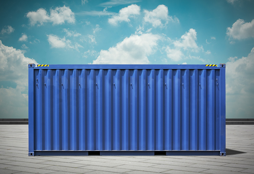 Pro Tip: Renting or purchasing a shipping container that's located close to your home will result in the lowest delivery costs!
