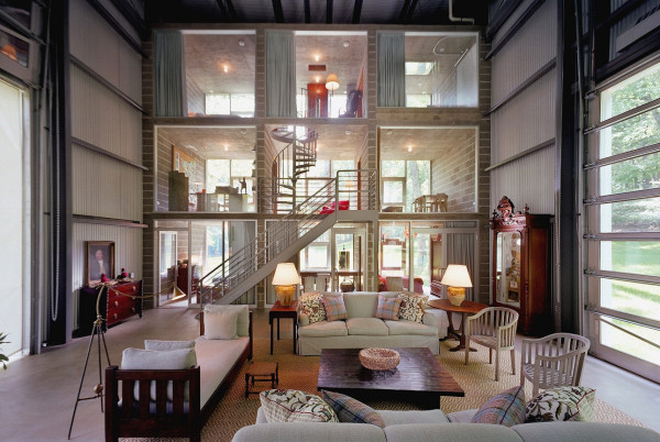multi-story volumetric shipping container construction