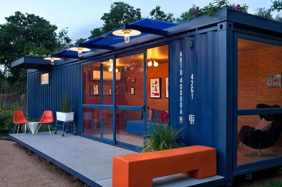 The Guest Home - Shipping Container House
